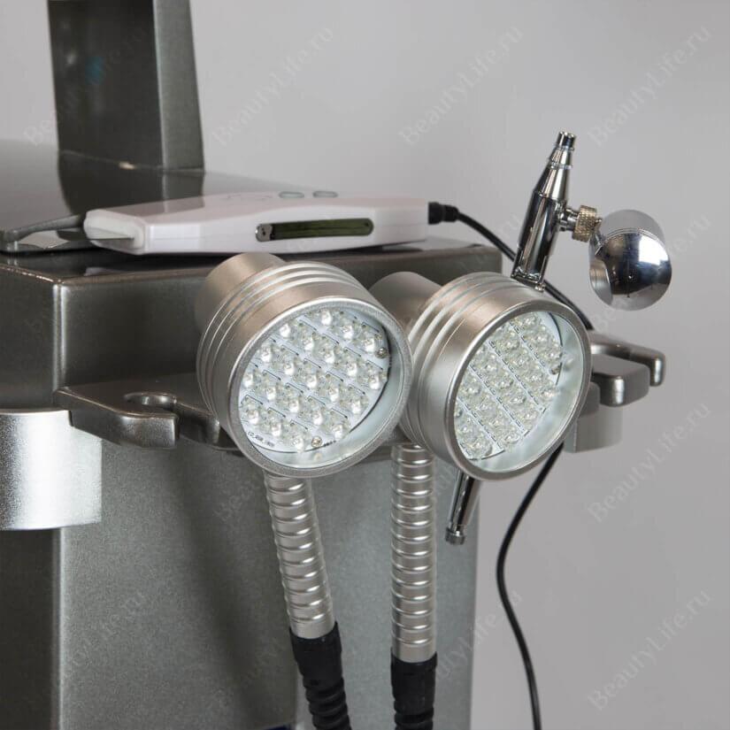 аппарат для газожидкостного пилинга и led-терапии